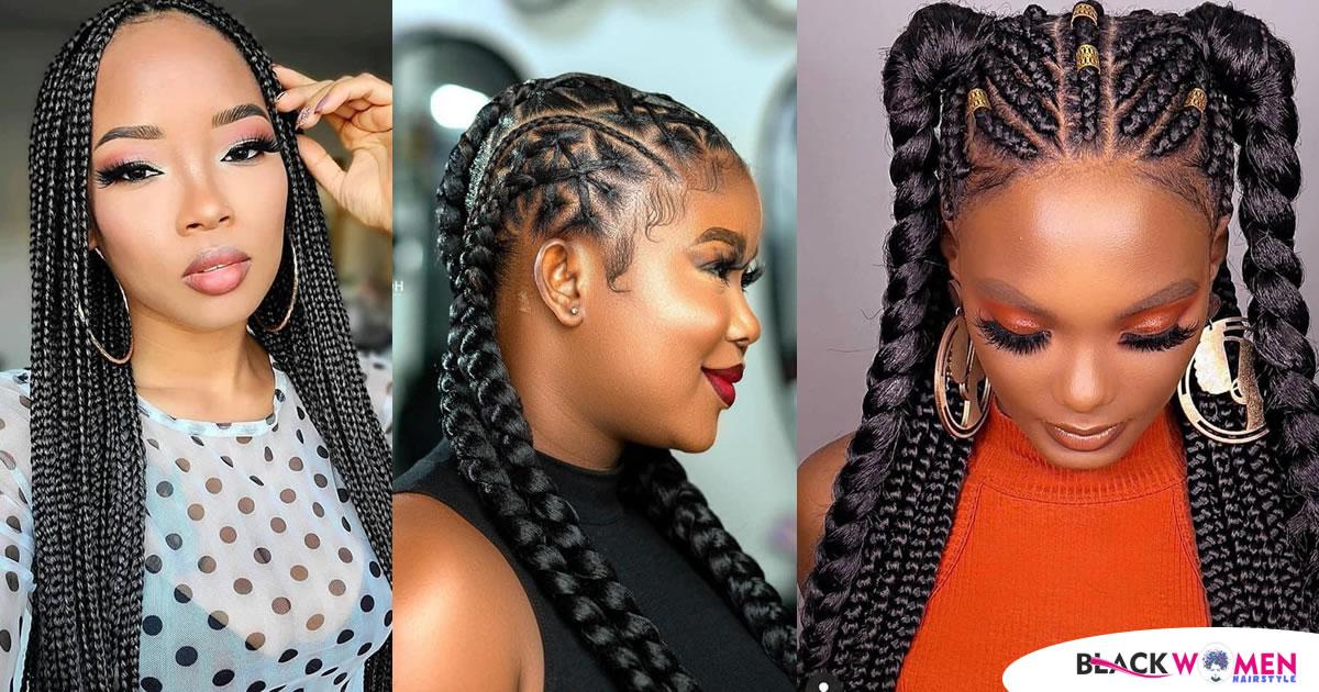 Black Braided Hairstyles 2021
