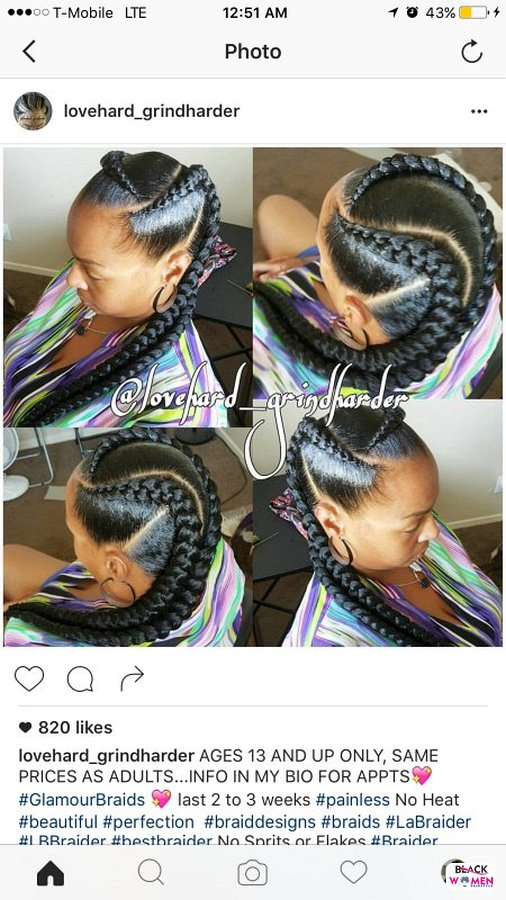 Ghana braids 2021 hairstyleforblackwomen.net 41