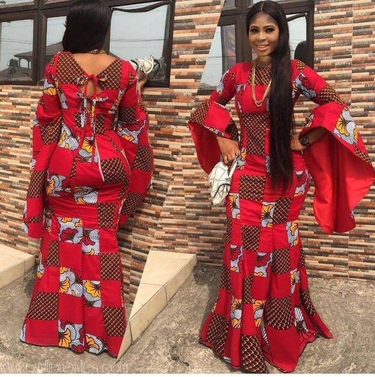 14 PHOTOS Enticing African Dresses For Women African Fashion Designers 2021 5