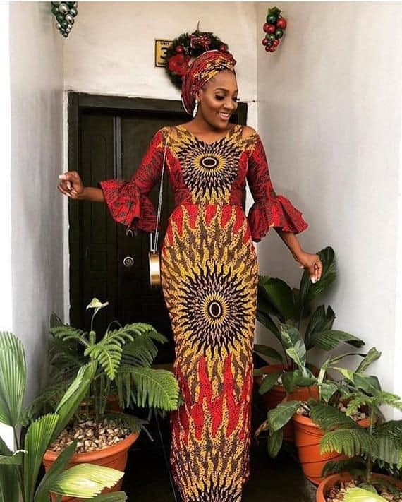 14 PHOTOS Enticing African Dresses For Women African Fashion Designers 2021 6