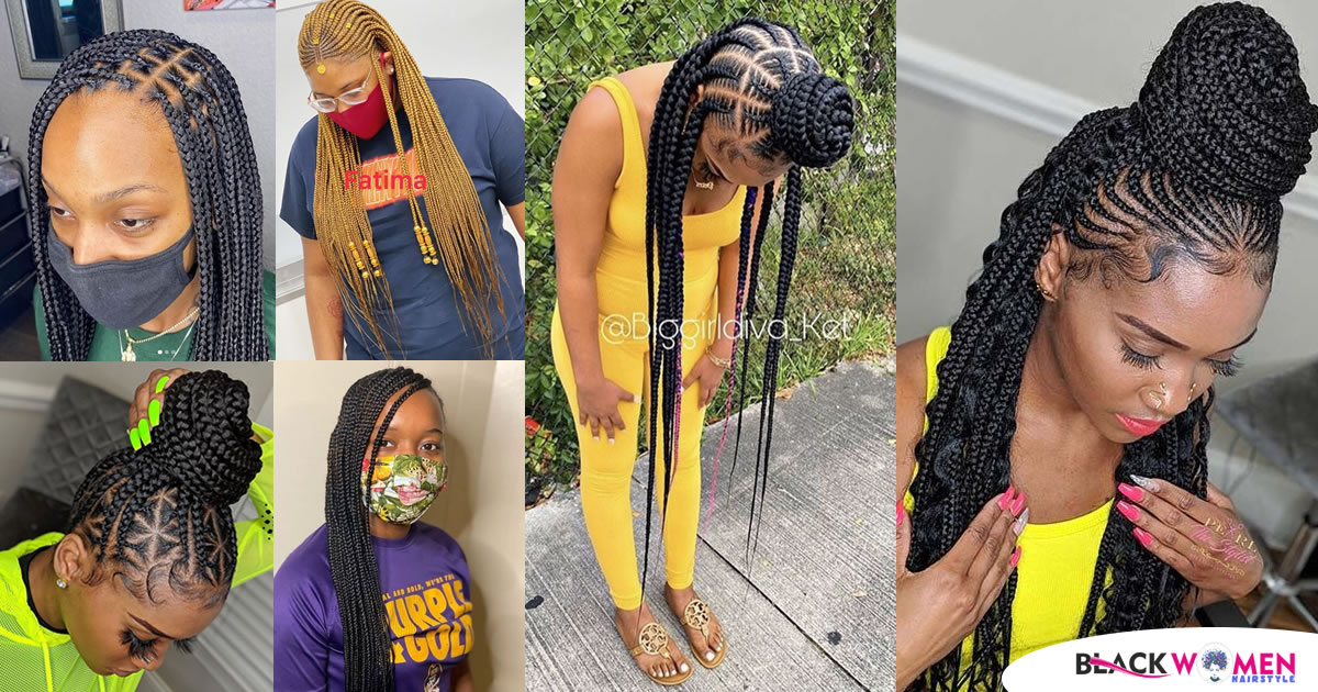 2021 Ghana Braids Ideas That You Need to Try Out This Season