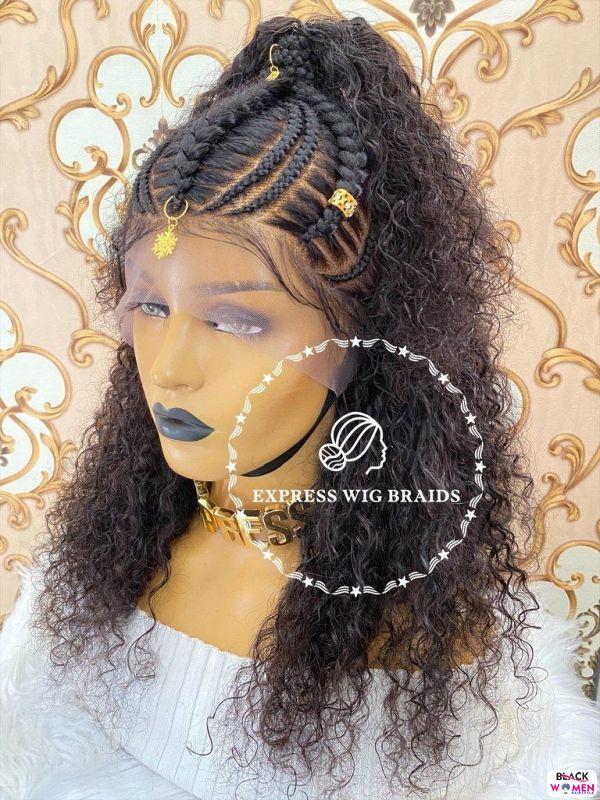 African braids cornrows105
