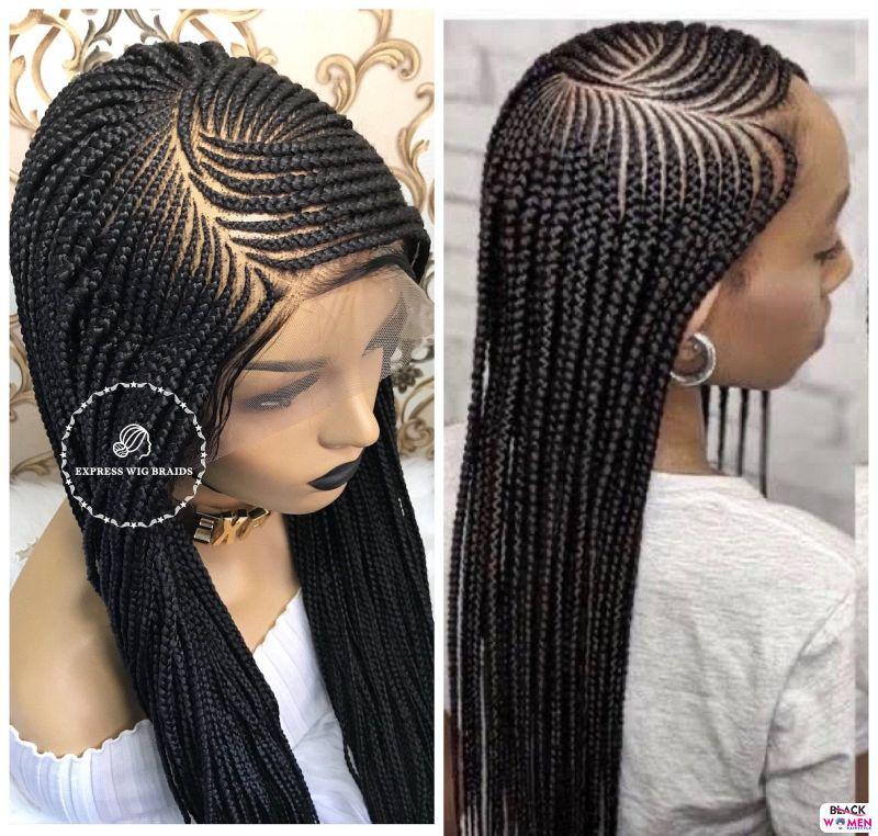 African braids cornrows106