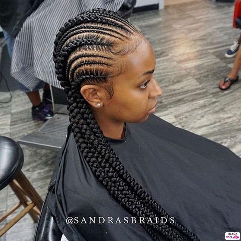 African braids cornrows116