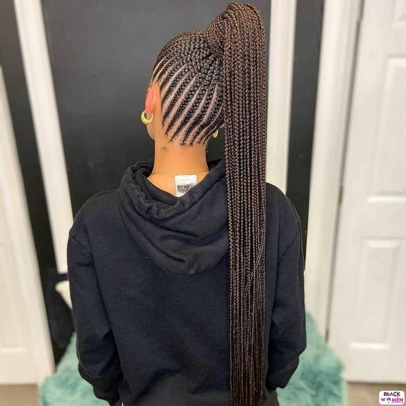 African braids cornrows126