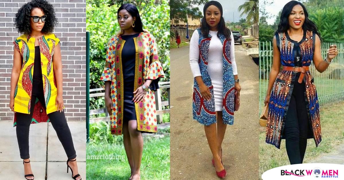 How You Should Style And Rock Your Ankara Kimono