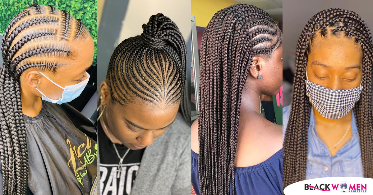 Latest Braided Ghana-Weaving Hairstyles Compilation In 2021