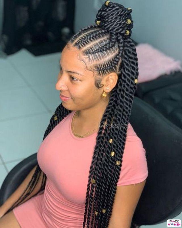 Latest Braids Hairstyle For Ladies 2021 Beautiful Braids 001 1
