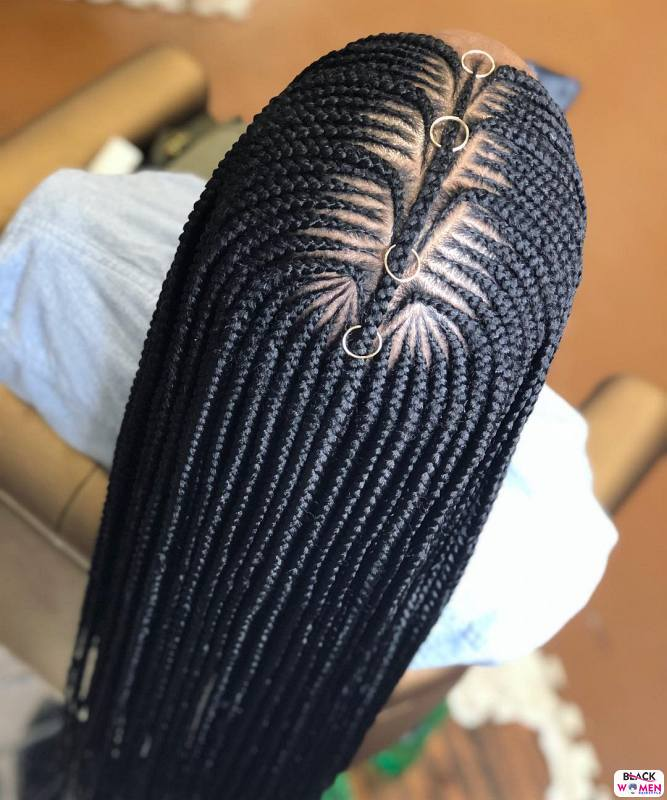 Latest Braids Hairstyle For Ladies 2021 Beautiful Braids 002