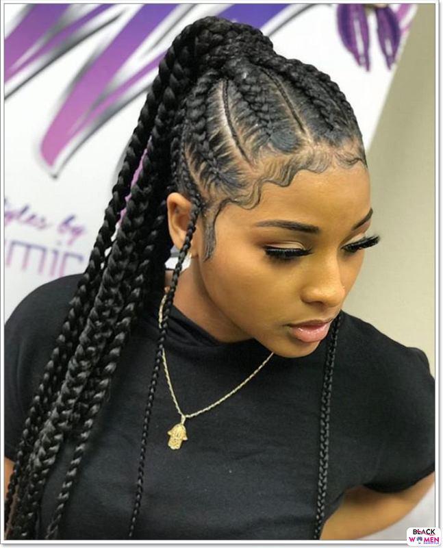 Latest Braids Hairstyle For Ladies 2021 Beautiful Braids 004 1