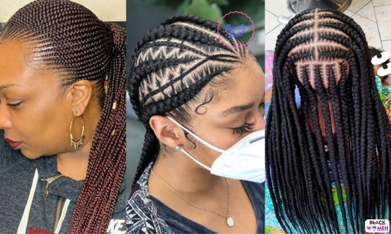 Latest Braids Hairstyle For Ladies 2021 Beautiful Braids 005 1