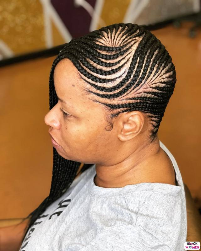 Latest Braids Hairstyle For Ladies 2021 Beautiful Braids 006