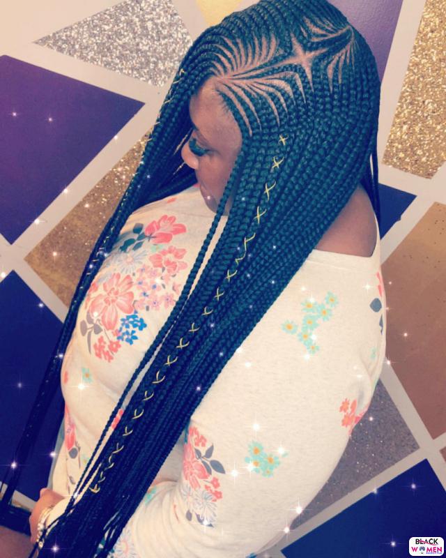 Latest Braids Hairstyle For Ladies 2021 Beautiful Braids 008