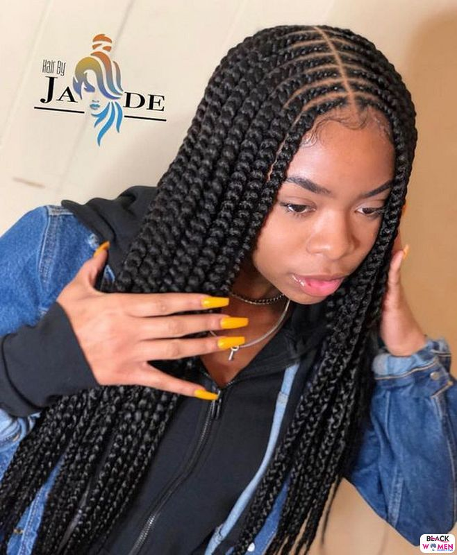 Latest Braids Hairstyle For Ladies 2021 Beautiful Braids 010 1