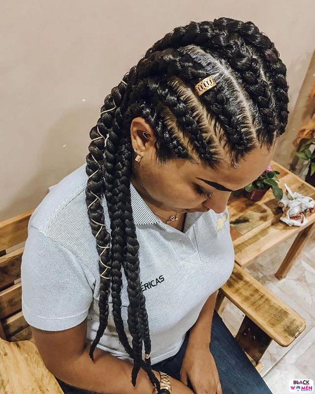 Latest Braids Hairstyle For Ladies 2021 Beautiful Braids 016 1