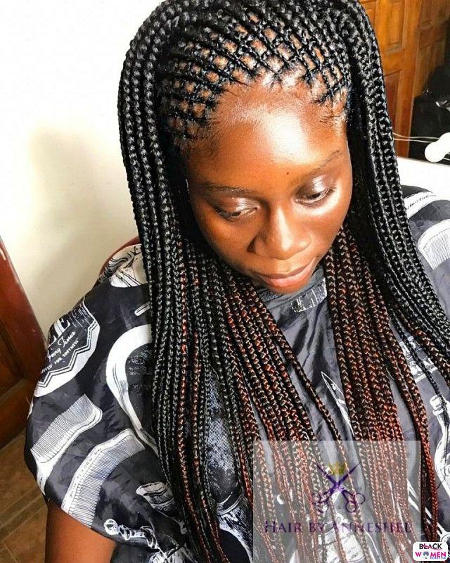 Latest Braids Hairstyle For Ladies 2021 Beautiful Braids 021 1