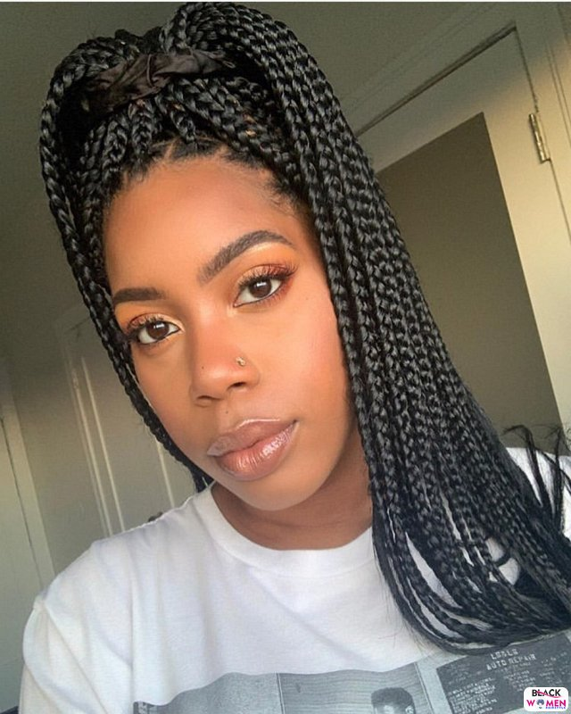Latest Braids Hairstyle For Ladies 2021 Beautiful Braids 021