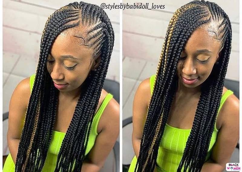 Latest Braids Hairstyle For Ladies 2021 Beautiful Braids 023