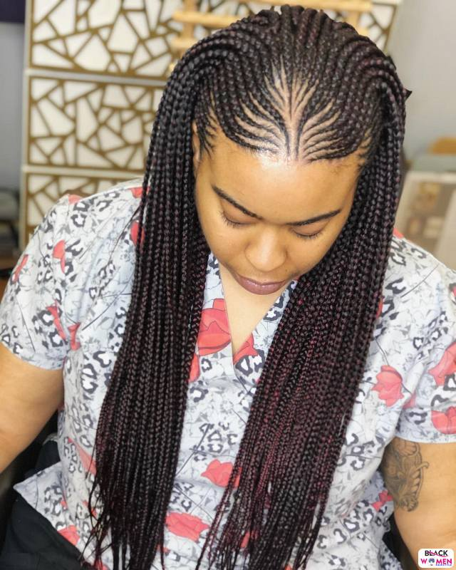 Latest Braids Hairstyle For Ladies 2021 Beautiful Braids 026