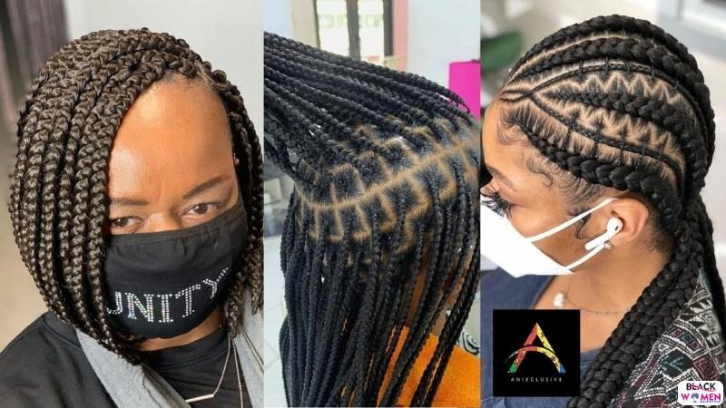 Latest Braids Hairstyle For Ladies 2021 Beautiful Braids 028