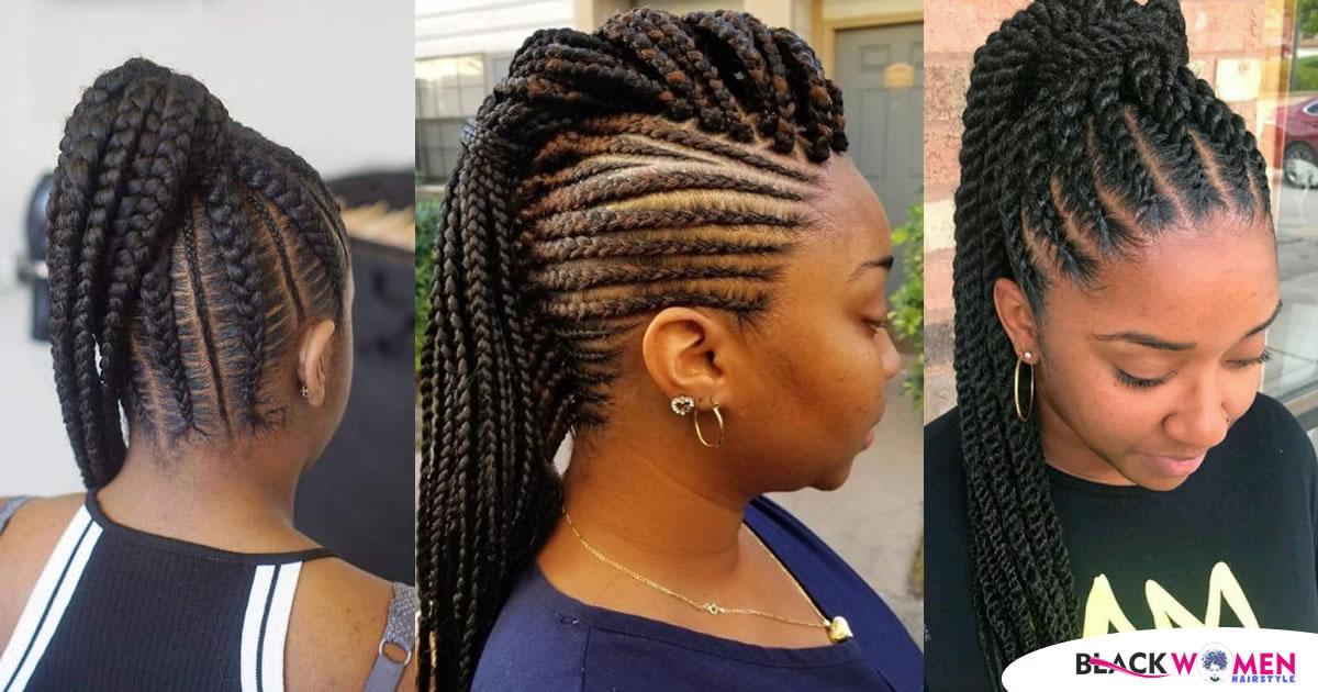 Latest Ghana Weaving Hairstyles – Top 20 Best Ghana Weaving Hairstyles In 2021
