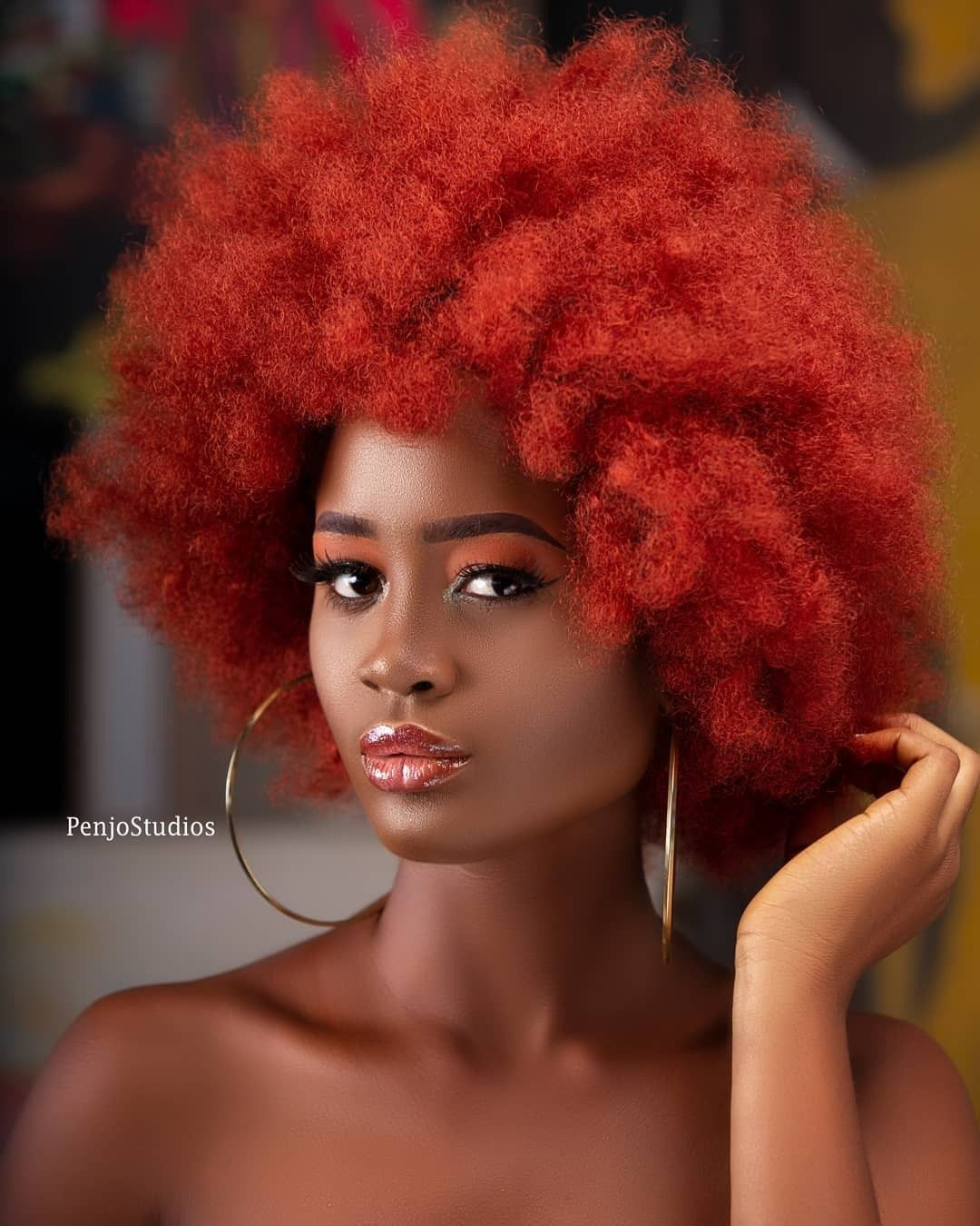 Natural Hair Afro styles002