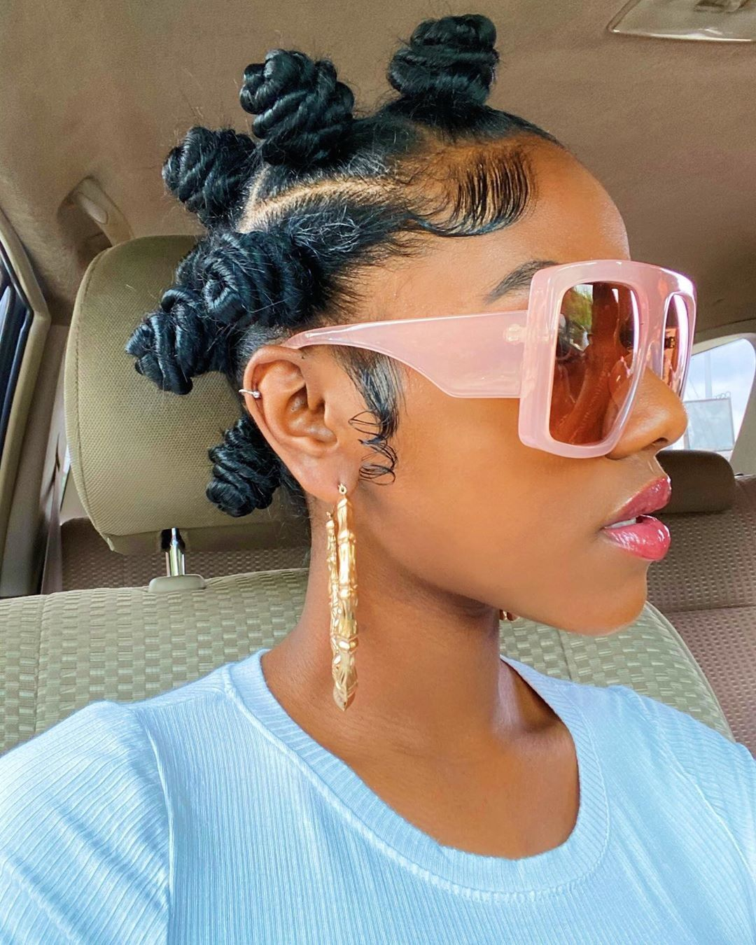 Natural Hair Afro styles012