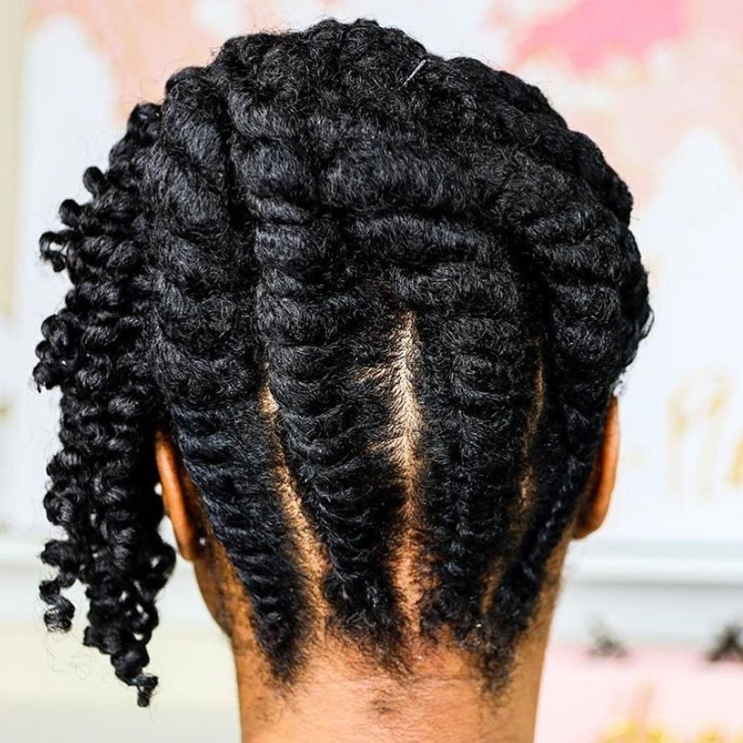 Natural Hair Afro styles042