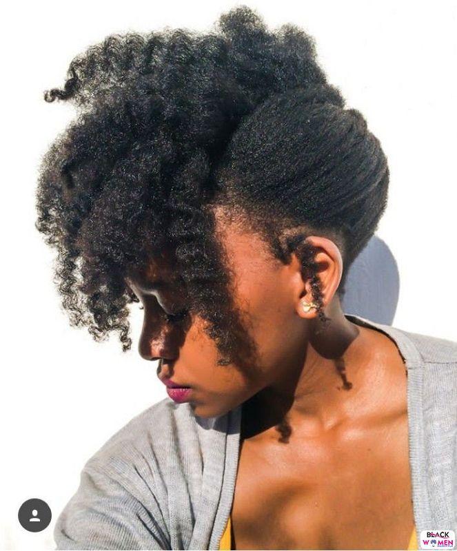 Natural hair updos 002