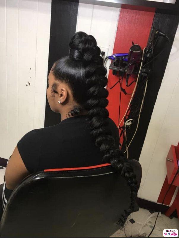 Natural hair updos 004
