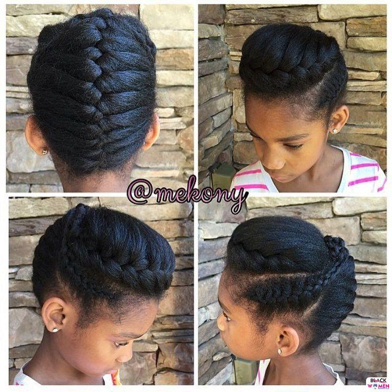 Natural hair updos 005