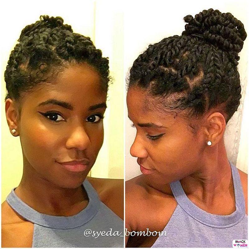 Natural hair updos 010 1