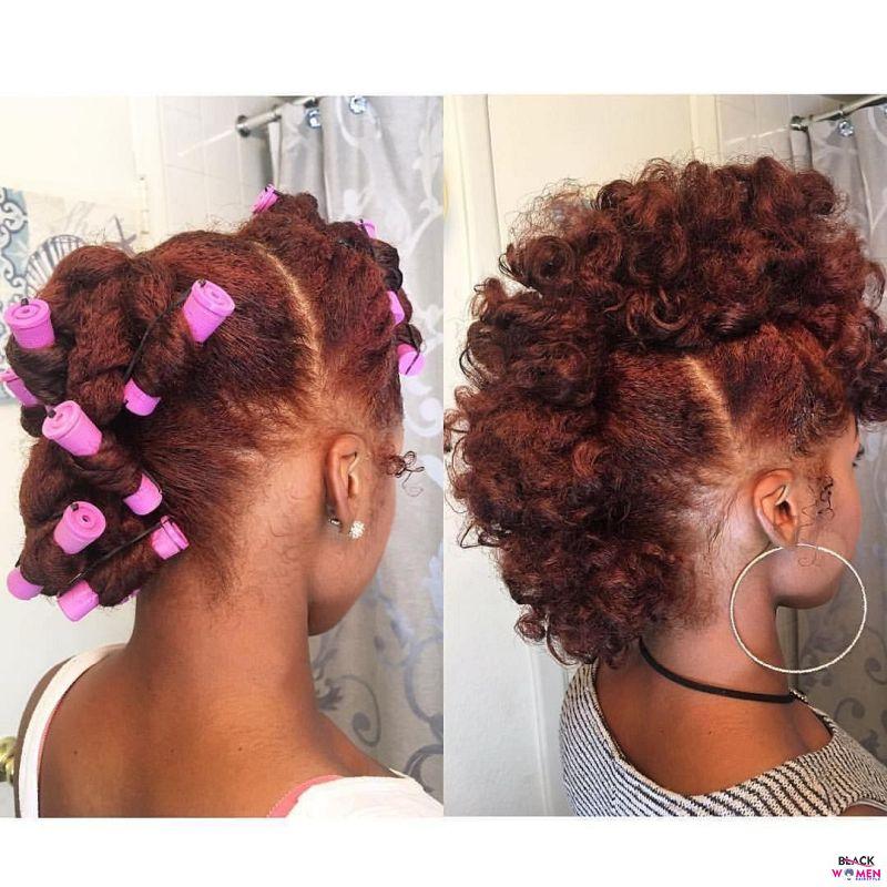 Natural hair updos 011