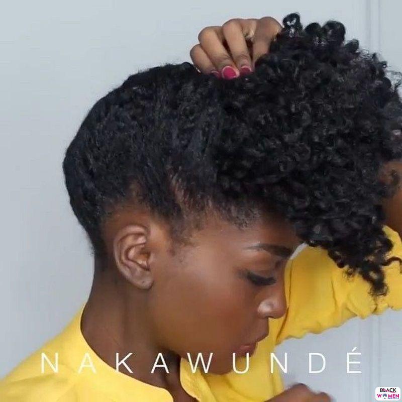 Natural hair updos 013