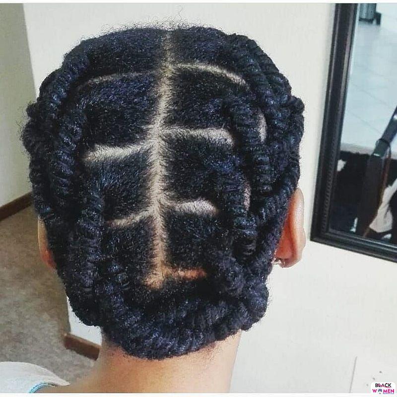 Natural hair updos 019