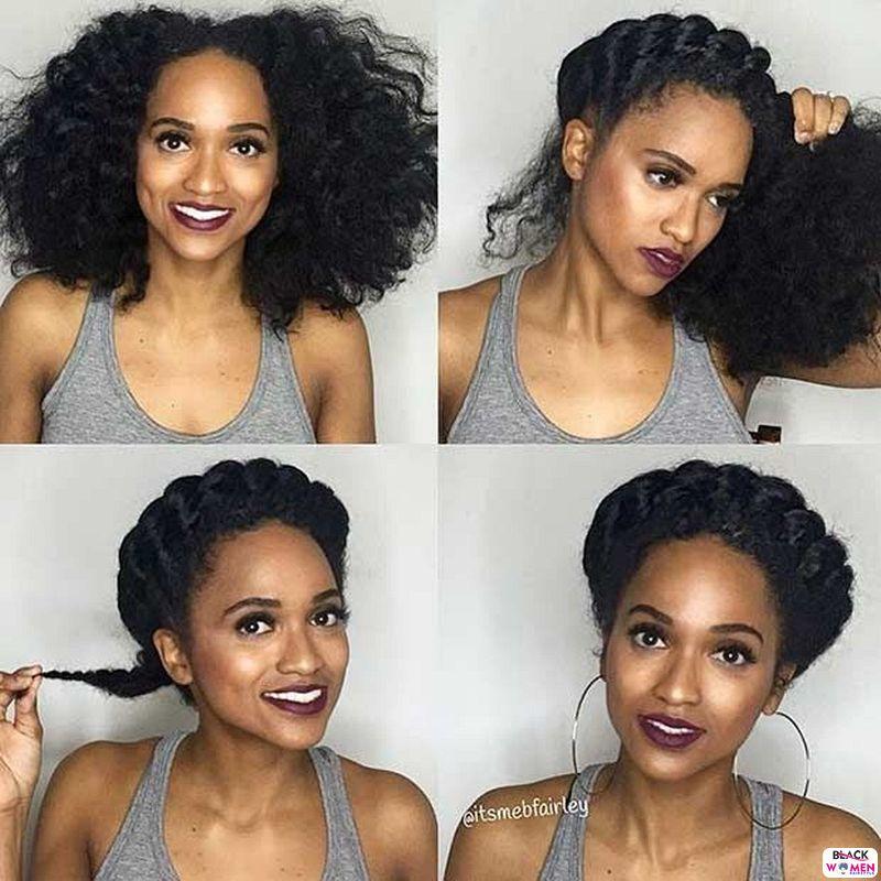 Natural hair updos 021