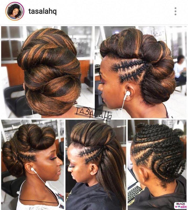 Natural hair updos 023