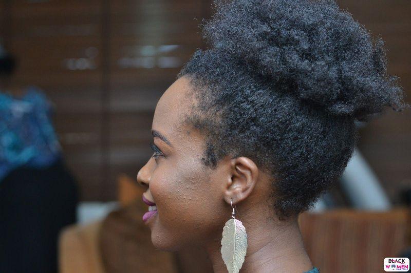 Natural hair updos 036
