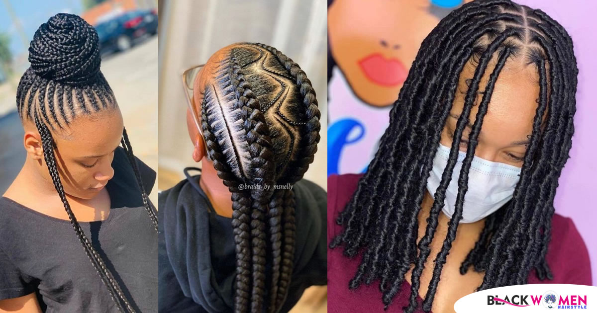 ROCKY HAIRSTYLES FOR LADIES!!! 2021 Cornrow Braids Hairstyles: Latest Hairstyles you should try out