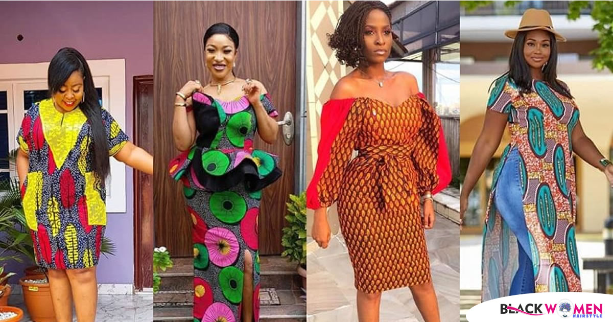 Trendy Ankara Styles 2021-See 2021 Different Ankara Styles You Can Flex