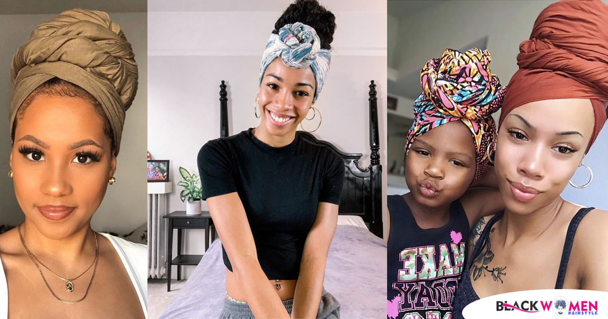 You've Never Seen These Head Wrap Tie Patterns Before