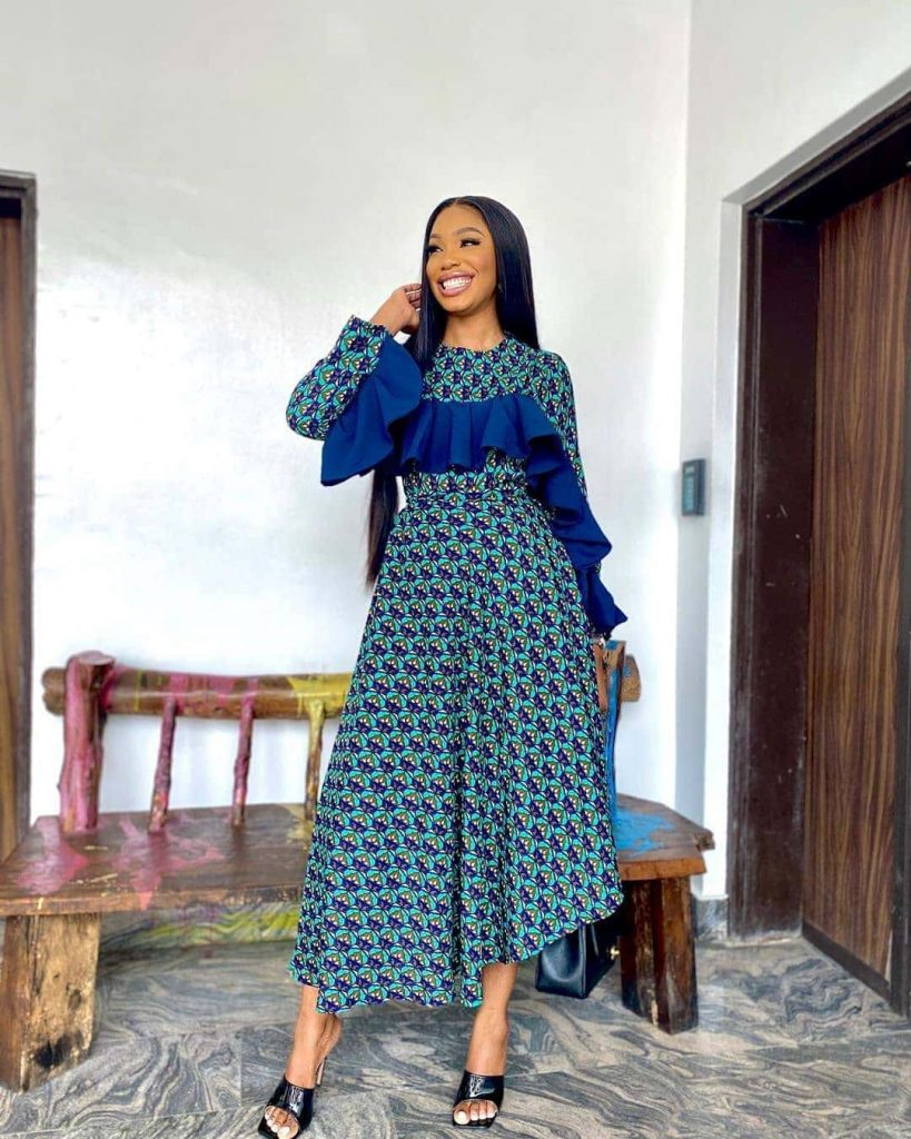13 Enthralling Ankara Styles Alluring African Dresses For Women 2020 4 819x1024 1
