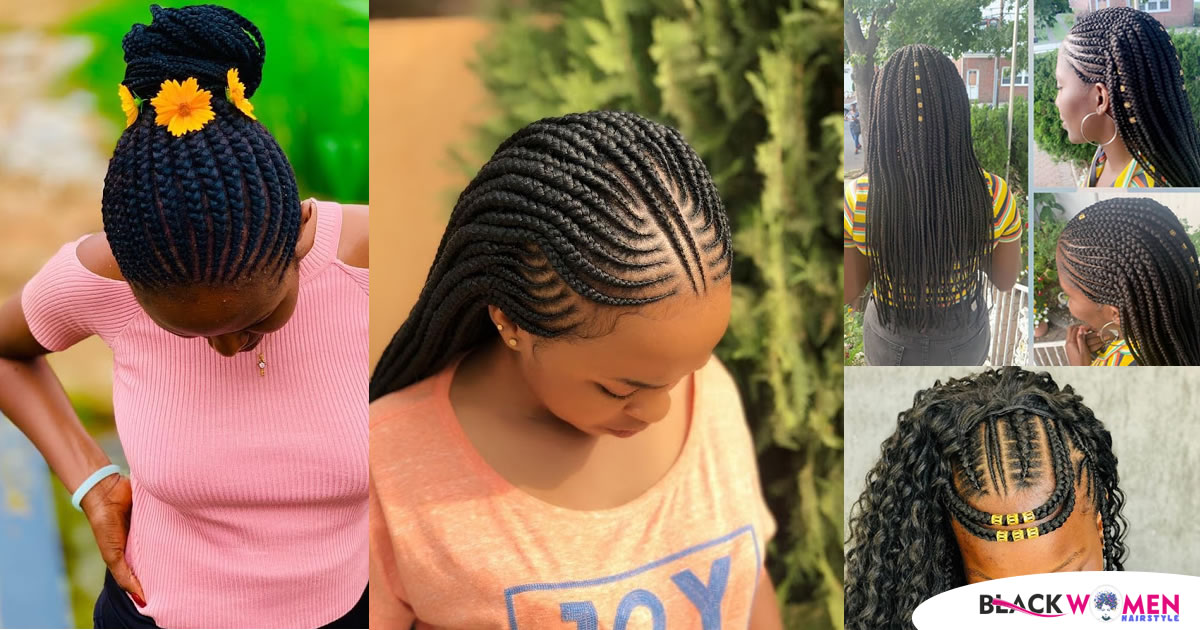 Latest Braids Hairstyles 2021: New Hairstyles for new week!!
