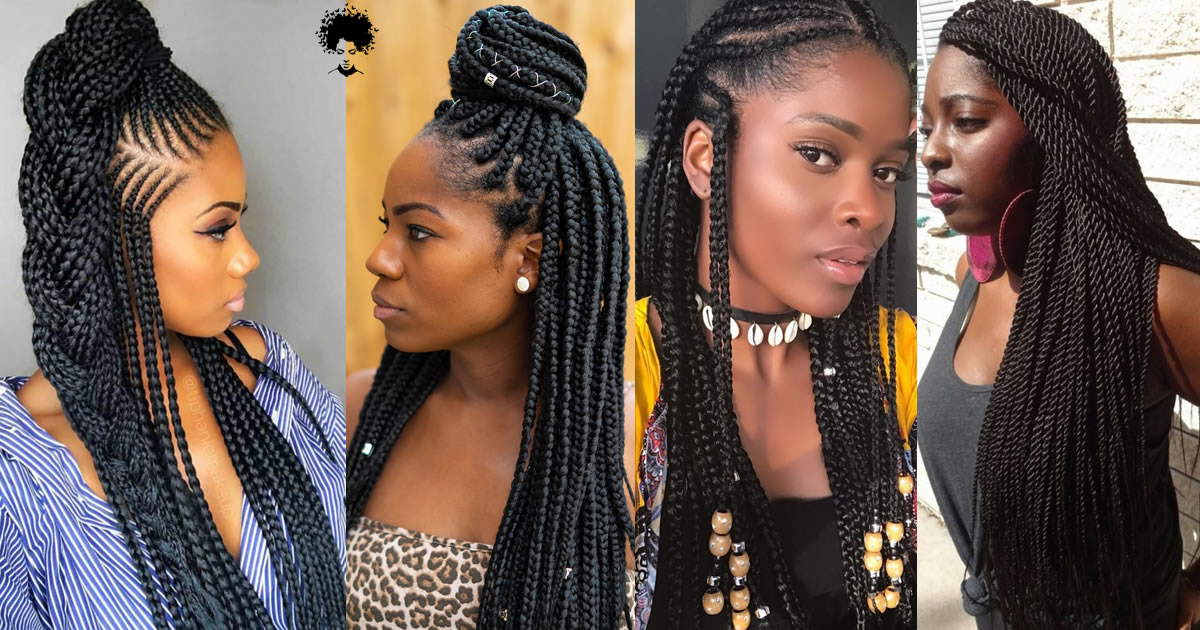 118 Splendid Amazing African Braids Hairstyle Pictures to Inspire You