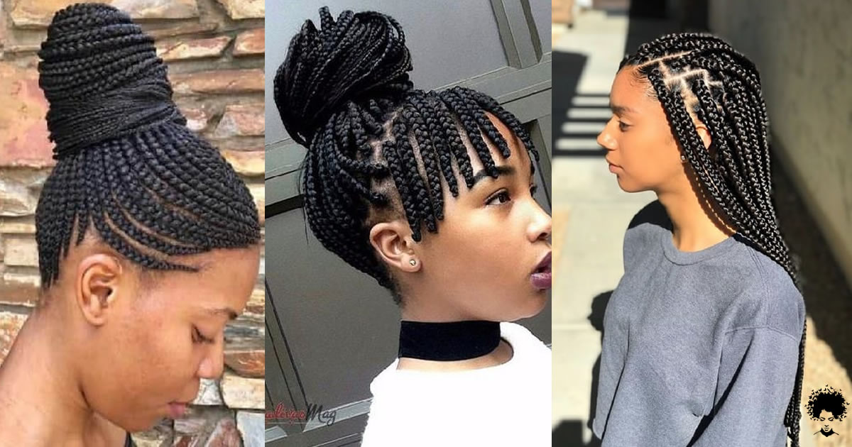 18 Gorgeous Nigerian Braided Hairstyles for Women