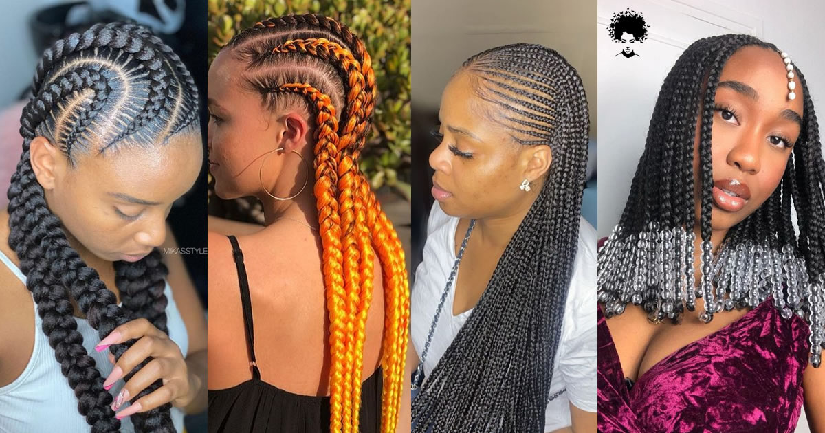 30 Beautiful Cornrow All-Back Styles For 2021