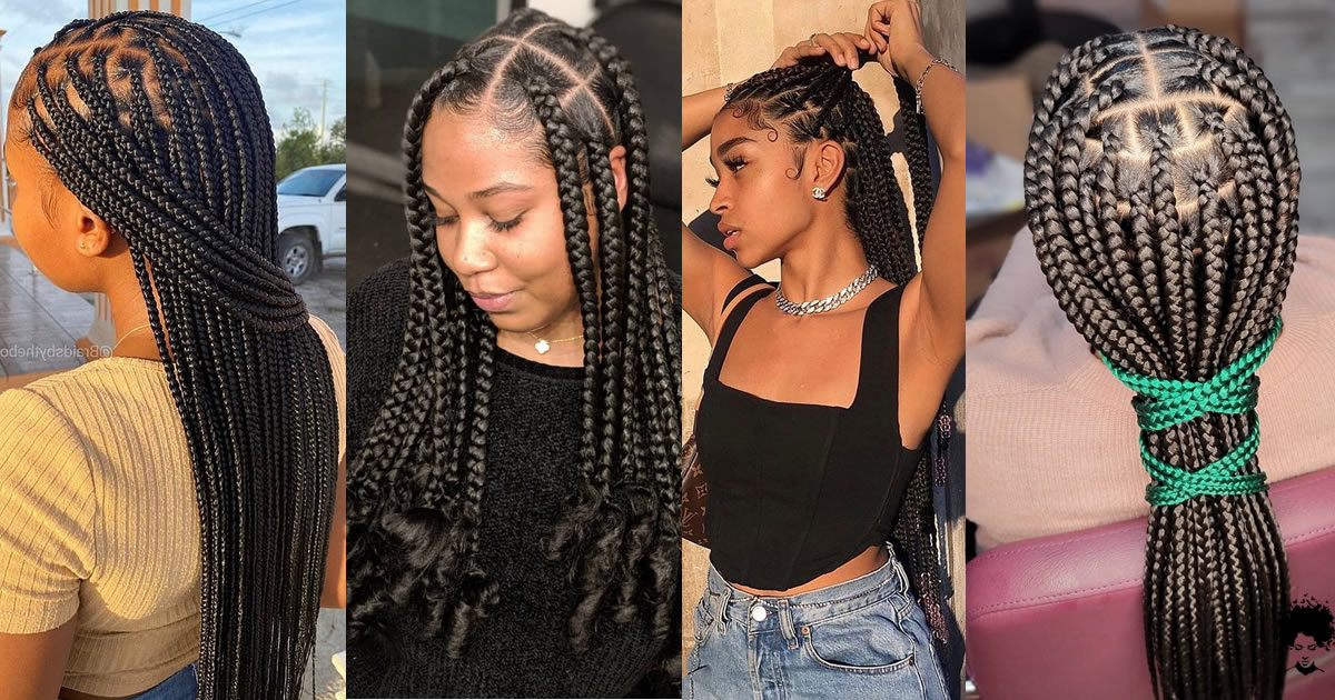 30 New Knotless Box Braids Ideas For 2021