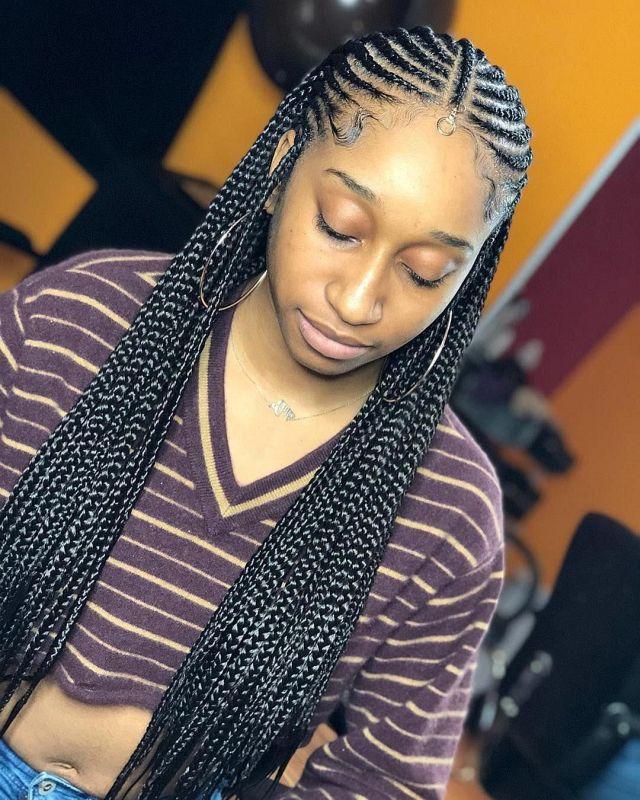 35 Ghana Braids Styles – A Must See For Trendy Ladies 001