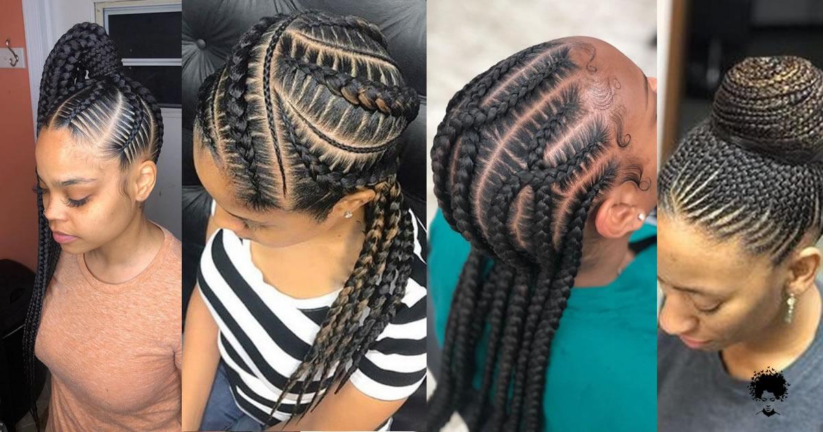35 Ghana Braids Styles – A Must-See For Trendy Ladies