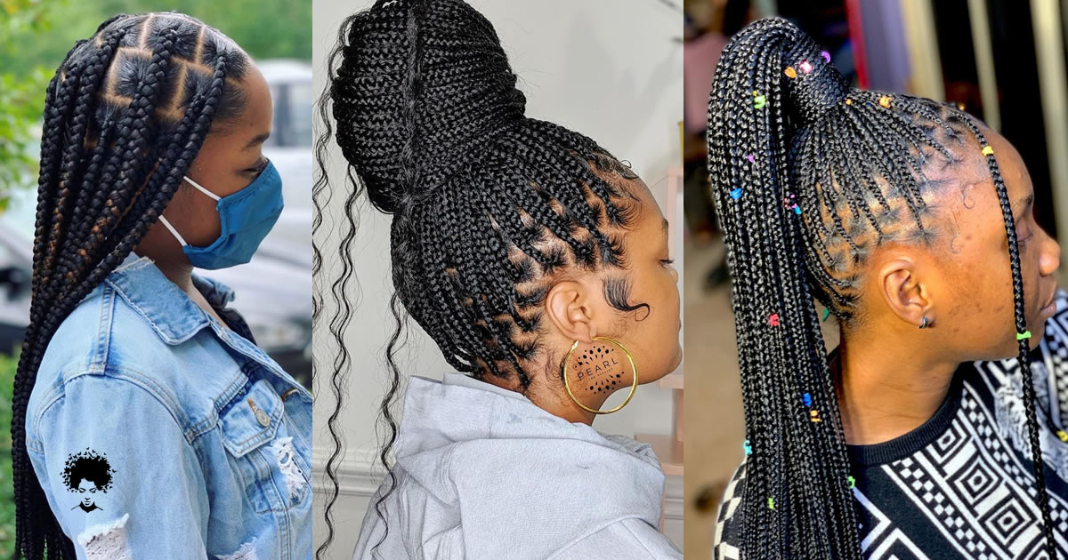 50 Beautiful Box Braids People Loved Through 2021